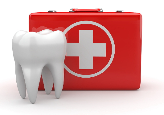 dentist clinic header image of dental first aid